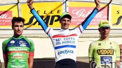 Andrea Toniatti vince la crono e la classifica finale della Coppa del Mobilio