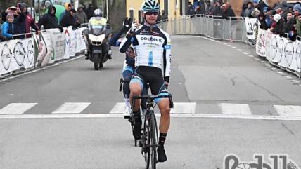 Alessandro Covi si impone al Gp La Torre. Prima vittoria su strada per il Team Colpack