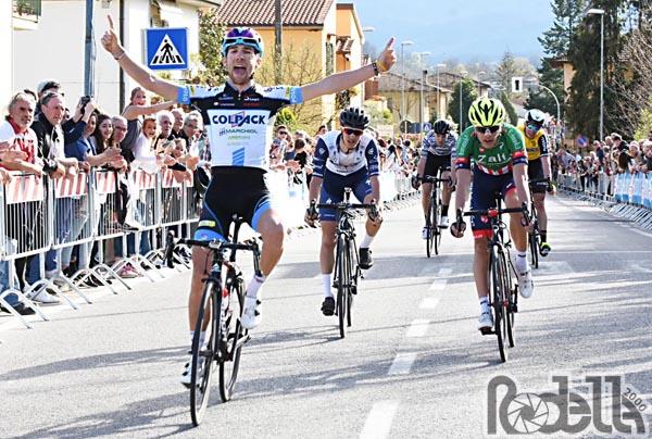 Davide Baldaccini trova il primo successo a Montanino