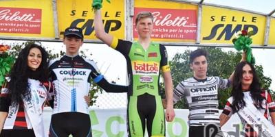 Alessandro Covi secondo a Pontedera. Filippo Rocchetti nono al Giro delle Fiandre U23