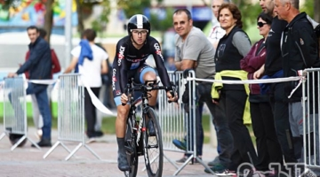 Francesco Romano decimo nella crono della Vuelta a Navarra