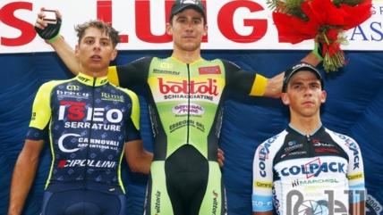 Enrico Zanoncello sul podio anche al Gp San Luigi