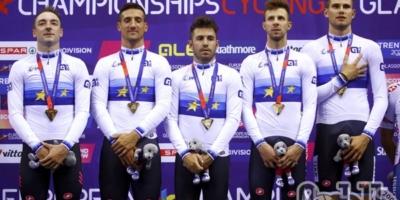 Francesco Lamon campione d'Europa dell'Inseguimento a squadre