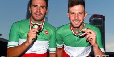 Lamon campione italiano anche della Madison.Rocchetti secondo a Loro Ciuffenna