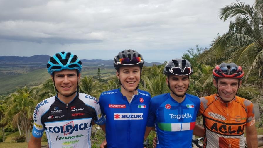 Riccardo Lucca vola in Oceania per il Giro di Nuova Caledonia