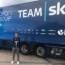 Andrea Bagioli è stato in ritiro col Team Sky