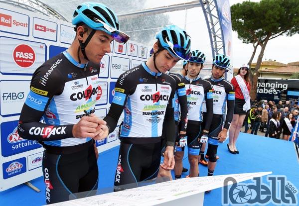 Team Colpack: da domani la Settimana Coppi e Bartali