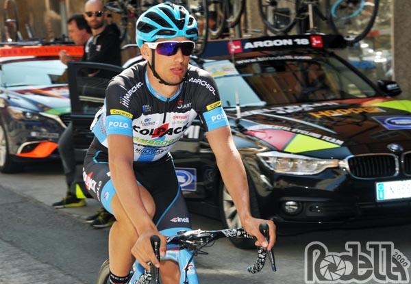 Giro di Sicilia: Toniatti in fuga per 210 km e sale settimo in classifica