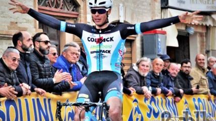 Rocchetti vince a Monte Urano, Toniatti è terzo
