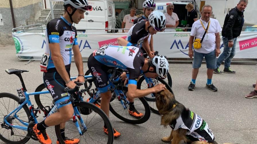 Diario del Team Colpack dal Giro U23: Dimaro-Levico Terme, una tappa veloce solo in teoria