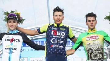 Andrea Bagioli sul podio a Darfo Boario Terme