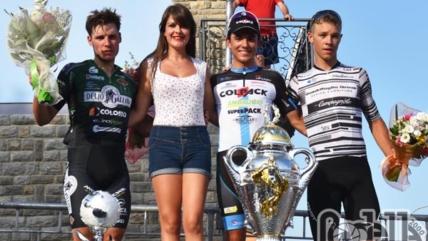 Il colombiano Nicolas Gomez impallina tutti nel Circuito di Cesa