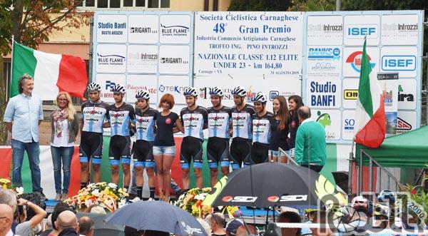 Team Colpack, da domani al Giro del Friuli