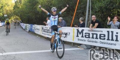 Andrea Bagioli torna al successo, primo a Gavardo