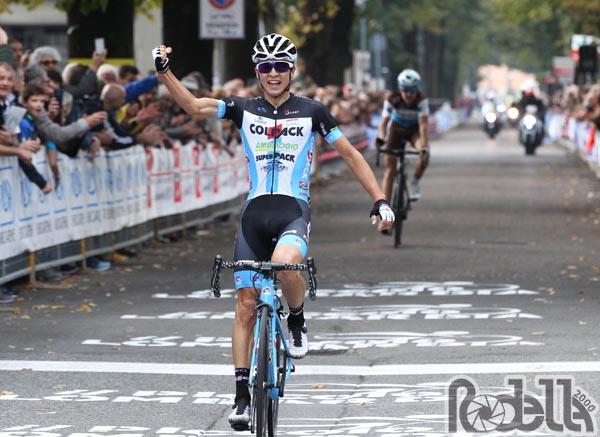 Andrea Bagioli si prende il Piccolo Giro di Lombardia